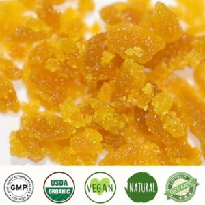 Our Broad Spectrum CBD Wax has more than just CBD it features the true profile that our high-quality Hemp has to offer. With all natural terpenes and combo of CBD and CBG, this is a highly enjoyable Broad Spectrum CBD Wax.